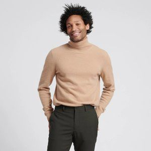 Naadam Cashmere Turtleneck Sweater